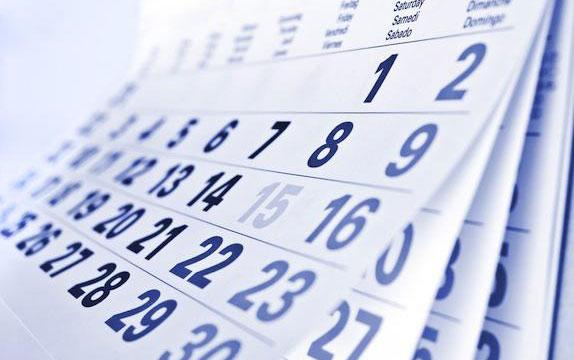 Calendario recuperaciones pendientes cursos anteriores