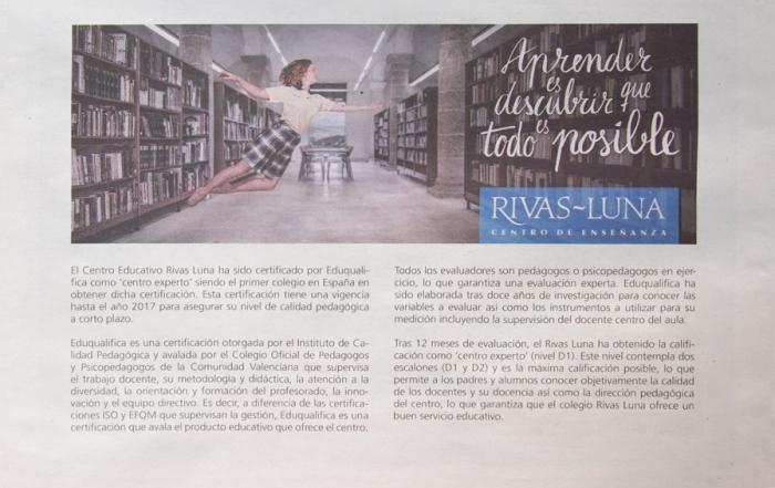 Rivas Luna aparece <br />en El País